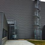 2 escaliers helicoidaux acbi cage