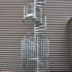 cage de protection escalier acbi