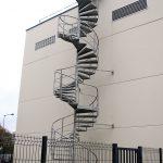 escalier d'acces technique acbi marche tole larmee