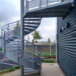 escalier de secours acbi palier peinture epoxy
