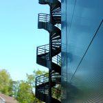 escalier de secours helicoidal acbi peinture epoxy marche caillebotis 30×19