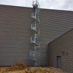 escalier helico technique + cage acier galva acbi