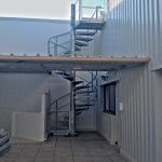 escalier technique acbi acier