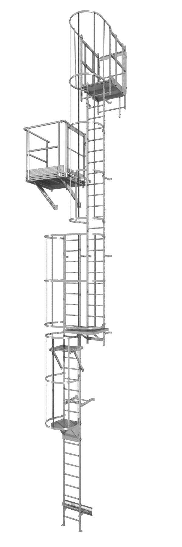 échelle à crinoline aluminium