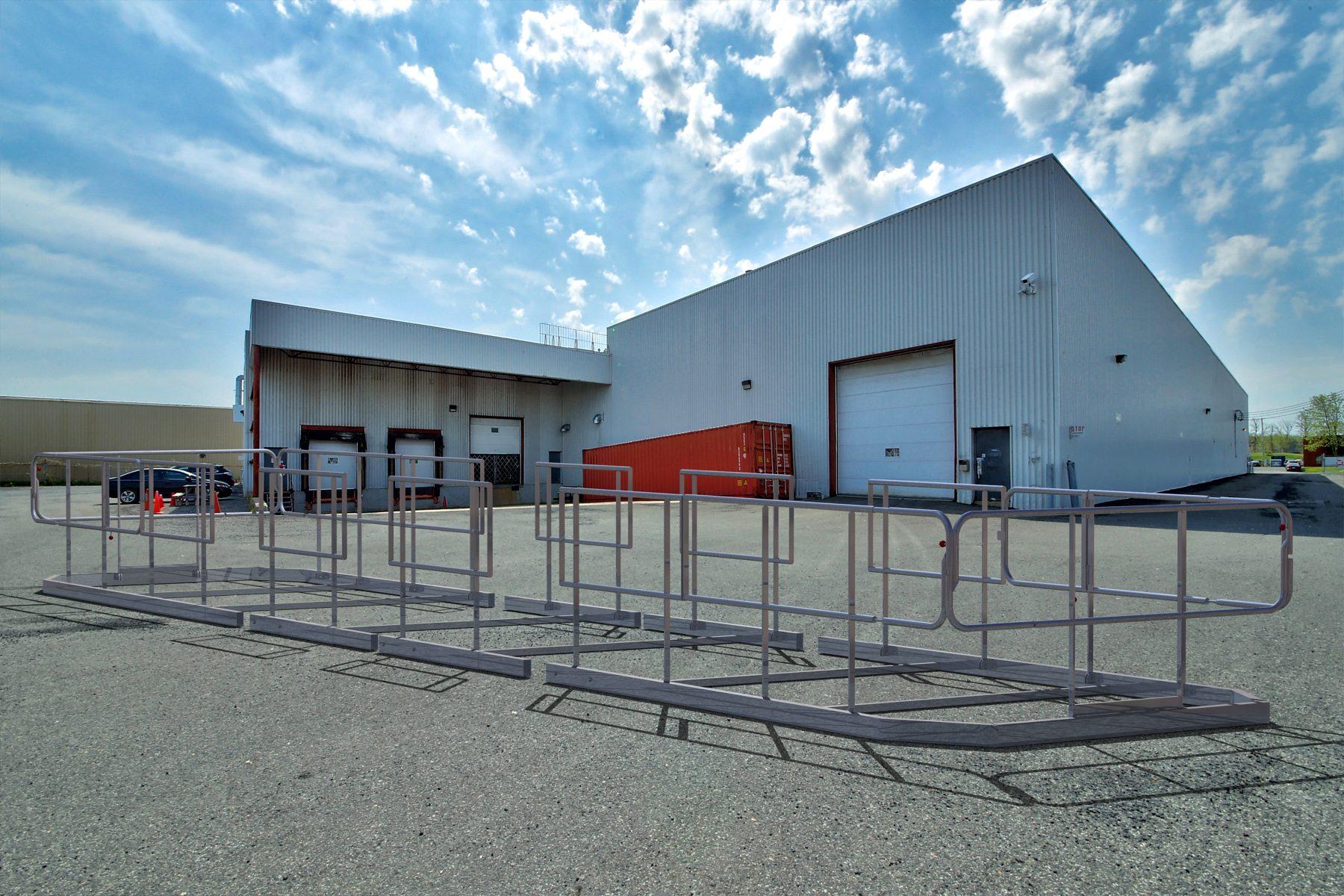garde-corps module chantier